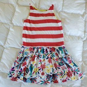 Mini Boden girls summer dress size 6-7